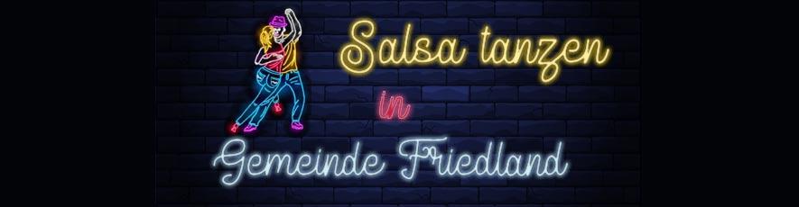 Salsa Party in Gemeinde Friedland